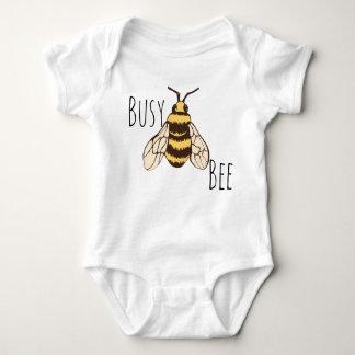 Body Para Bebê Zangão da abelha ocupada