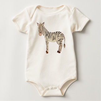 Body Para Bebê Zebra