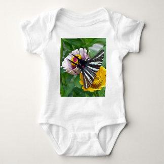 Body Para Bebê Zebra Swallowtail+Besouro japonês