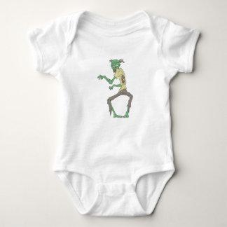 Body Para Bebê Zombi assustador da pele verde com carne Rotting