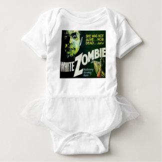 Body Para Bebê Zombi branco