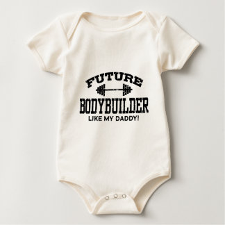 Bodybuilder futuro body para bebê
