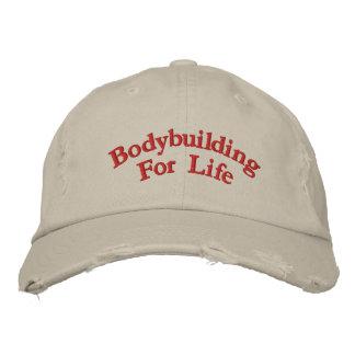 Bodybuilding para a vida boné bordado