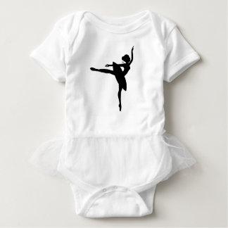 Bodysuit bonito do tutu da bailarina body para bebê