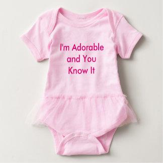 Bodysuit cor-de-rosa do tutu do bebê body para bebê