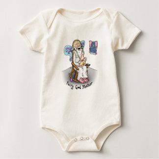 """""""Bodysuit do bebê da mãe feericamente do deus"""" Macacãozinho Para Bebê"""