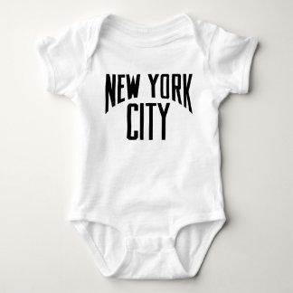 BODYSUIT do BEBÊ da Nova Iorque Body Para Bebê