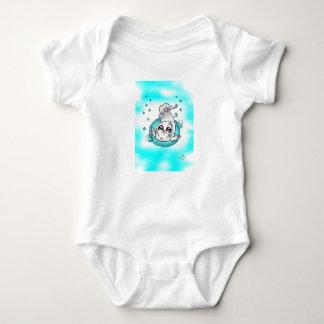 Bodysuit do bebê do selo de bebê da bolha body para bebê