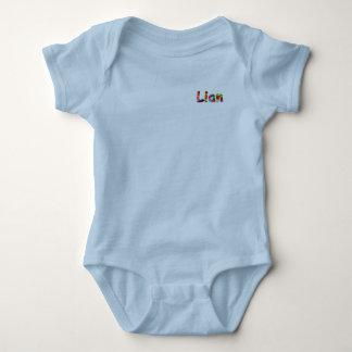 Bodysuit do jérsei do bebê de Lian Body Para Bebê