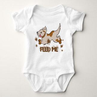 Bodysuit do jérsei do bebê do cão body para bebê