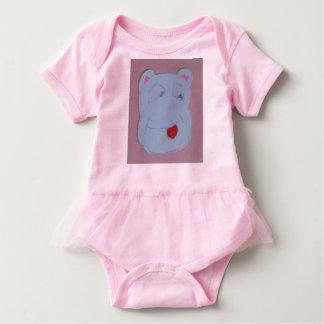 Bodysuit do tutu do bebê de Claire Body Para Bebê