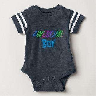 Bodysuit impressionante do futebol do bebê do body para bebê