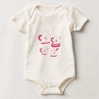 Bodysuit orgânico do roupa americano do tempo do body para bebê