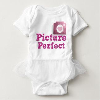 Bodysuit perfeito do tutu da imagem body para bebê