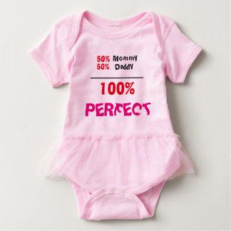 bodysuit perfeito do tutu do bebê de 100% body para bebê