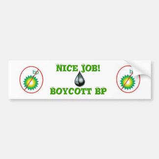Boicote BP Adesivo Para Carro