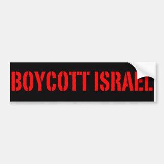 Boicote Israel - autocolante no vidro traseiro Adesivos
