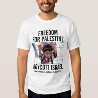Boicote Israel Camisetas