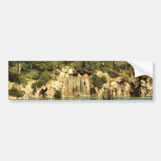 Bois du Boulougne (isto é, Boulogne), a cascata, P Adesivo