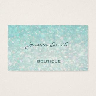 Bokeh liso elegante moderno glamoroso profissional cartão de visitas