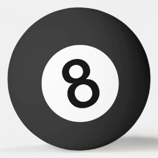 Bola 8 ou bola preta para o sibilo Pong