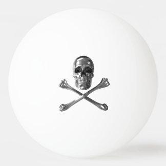 Bola alegre de Pong do sibilo do crânio de Roger