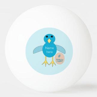 Bola azul feita sob encomenda de Pong do sibilo do