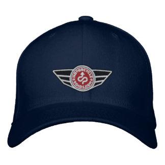 Bola-boné dos azuis marinhos com o logotipo boné bordado