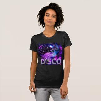 Bola brilhante do disco camiseta