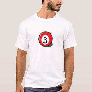 Bola de bilhar camiseta