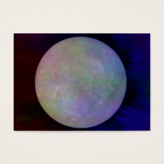 Bola de Crystall de quartzo Cartão De Visitas