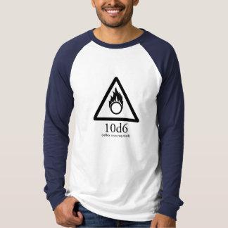 Bola de fogo camiseta