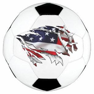 Bola De Futebol Americano Rasgo-através de Soccerball 11403943c946c