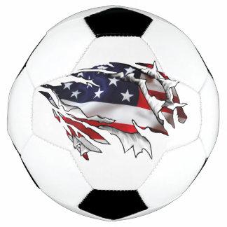 Bola De Futebol Americano Rasgo-através de Soccerball
