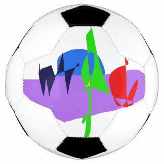 Bola De Futebol Andando dois cães