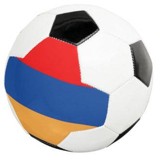 Bola de futebol arménia da bandeira