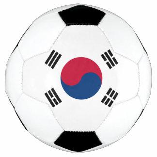Bola De Futebol Bandeira de Coreia do Sul
