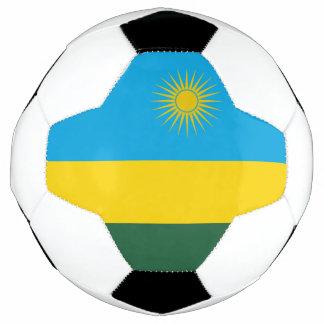 Bola De Futebol Bandeira de Rwanda