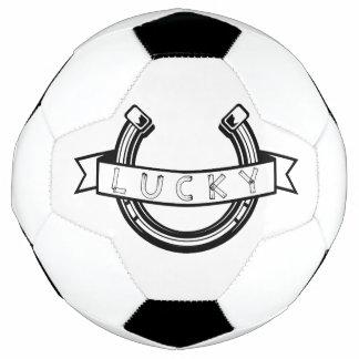 Bola De Futebol Boa sorte em ferradura afortunada