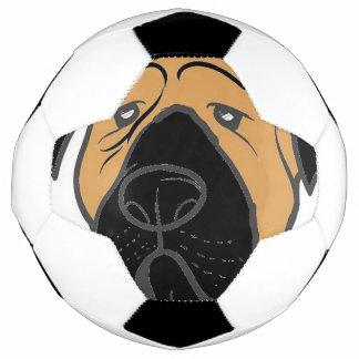 Bola De Futebol bullma que espreita fawn.jpg vermelho