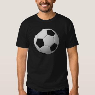 Bola de futebol: camisetas