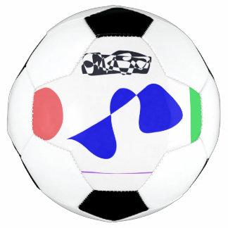 Bola De Futebol Contraste forte
