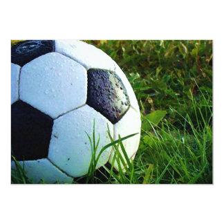 Bola de futebol - convite do futebol