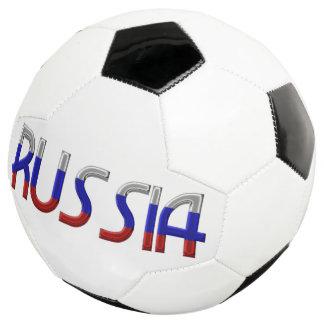 Bola De Futebol Cores da bandeira de país do russo da tipografia