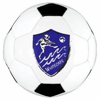 Bola de futebol da equipe de futebol das mulheres