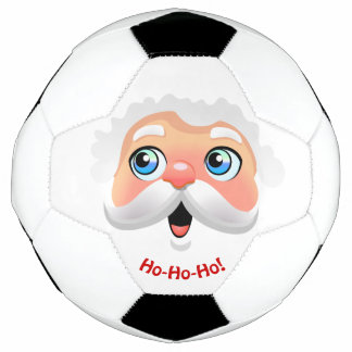 Bola De Futebol Desenhos animados bonitos de Papai Noel