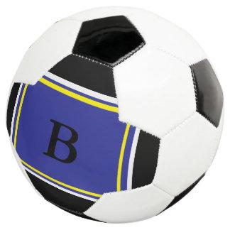 Bola De Futebol Design azul de Yelllow
