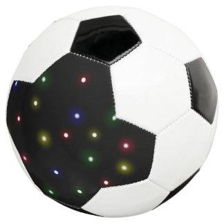 Bola De Futebol Design da luz da noite