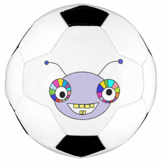 Bola De Futebol Design estrangeiro do monstro do smiley bonito