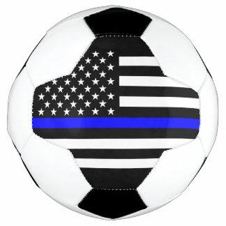 Bola De Futebol Design gráfico da bandeira fina simbólica de Blue